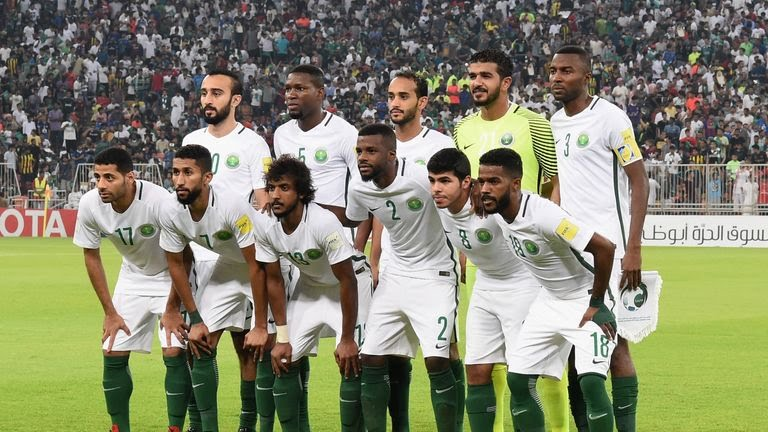Saudi Arabia finished as Group B runners-up in Asian qualifying